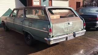 1964 Chevelle wagon 396 big block. Pre LS swap.