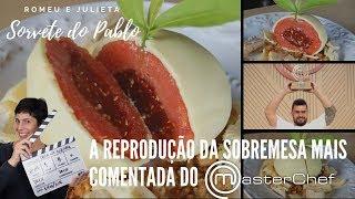 ⭐️  Faça você mesmo o sorvete do Pablo (final Materchef) ⭐️  Drica na Cozinha   Episódio #291