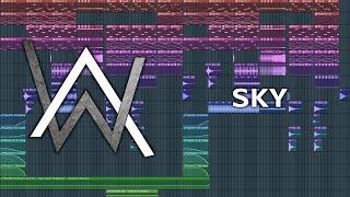 Alan Walker & Alex Skrindo - Sky - FL Studio Remake + FLP