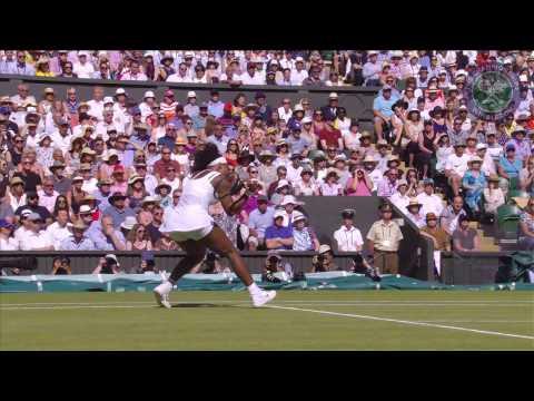 2015 Day 10 Highlights, Serena Williams vs Maria Sharapova semifinal