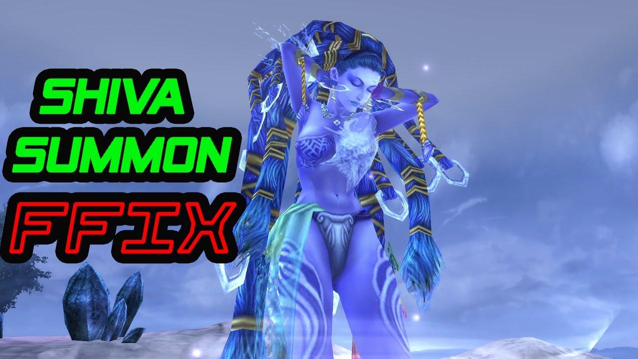 Final Fantasy Ix Shiva Summon Youtube