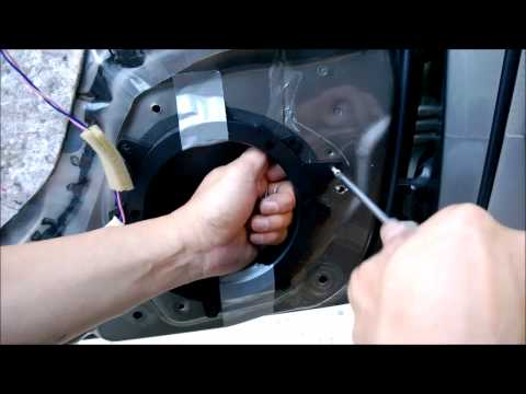 Installing Aftermarket Speakers in 03-08 Toyota Corolla (and Door Panel Removal)