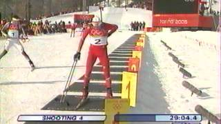 Turin 2006 - Biathlon - Poursuite hommes