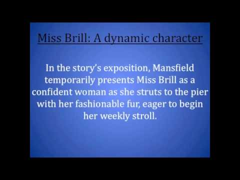 the characterization of the protagonist in miss brill a short story by katherine mansfield