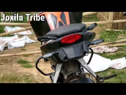 How to modified || KTM Duke 200 || in home by || Joxila Tribe