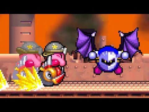Kirby Super Star Ultra - Revenge of Meta Knight - No Damage 100% Walkthrough