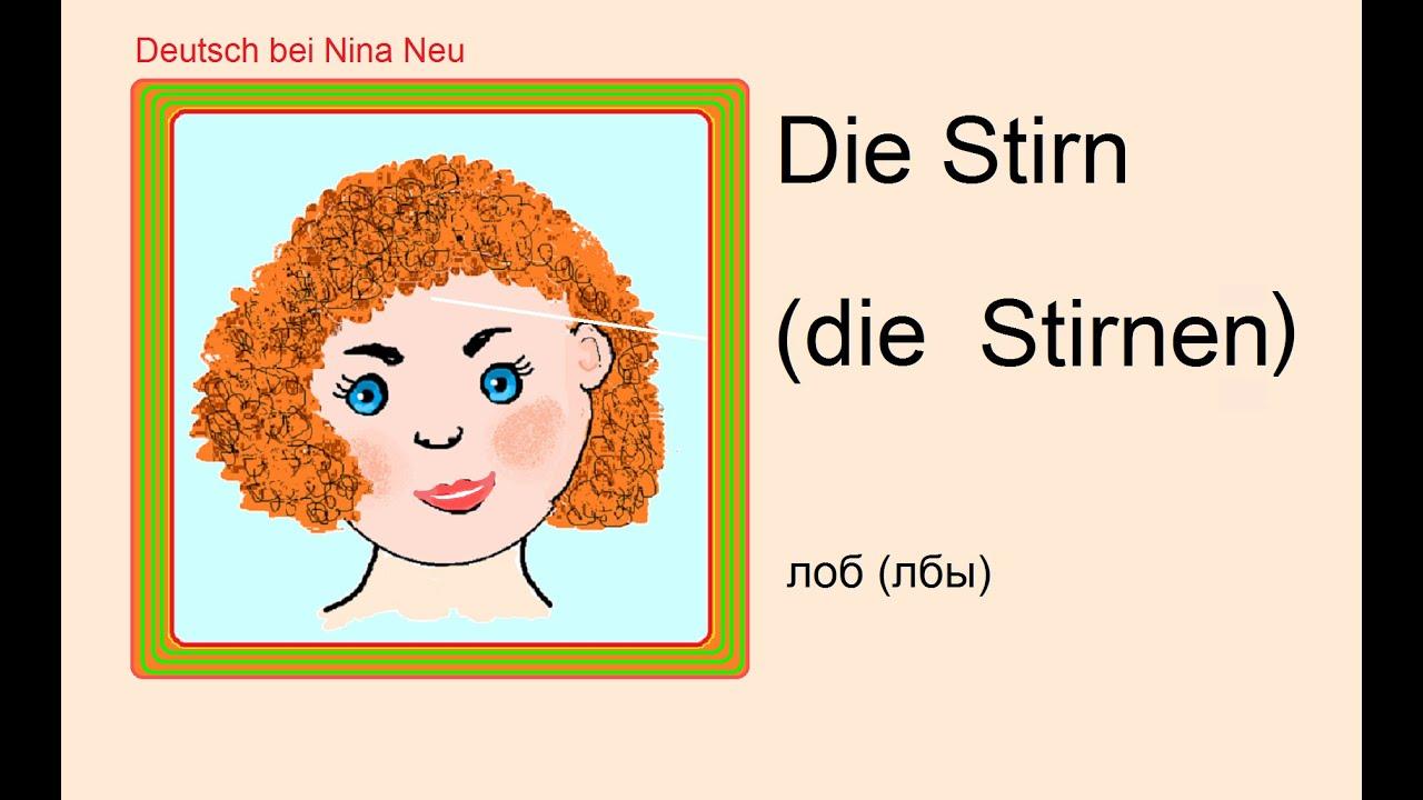 Описание внешности человека на немецком языке 7 класс