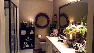 Master Bath Makeover & Organization