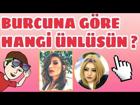Burcuna Göre Hangi Türk ünlüsün ?