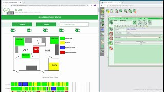 A manufacturing execution system (mes) is an information for managing, tracking, controlling, documenting and improving work-in-process on factory f...