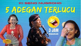5 Adegan paling lucu wayang kulit Ki Seno,sinden nganti nangis kepuyuh-puyuh! LEGEND KI SENO NUGROHO