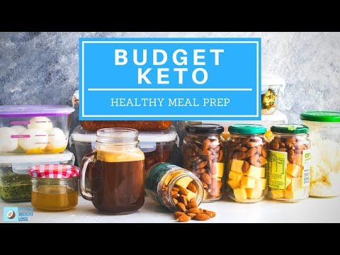 Keto On A Budget Meal Prep Individual Ingredients