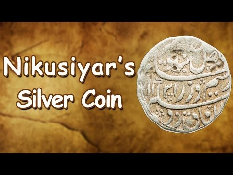 Silver Coin of Nikusiyar Mohammed worth Rs. 69 Lakhs | Mughal Coin | MW's Hidden Treasures