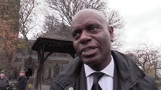 Doug Ellis funeral: Ian Taylor pays tribute