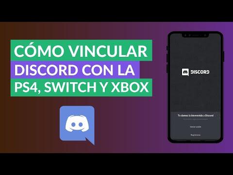 Cómo Vincular o Conectar Discord con la PS4, Switch y Xbox