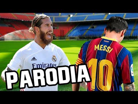 Canción Barcelona vs Real Madrid 1-3 (Parodia Agua – J. Balvin)