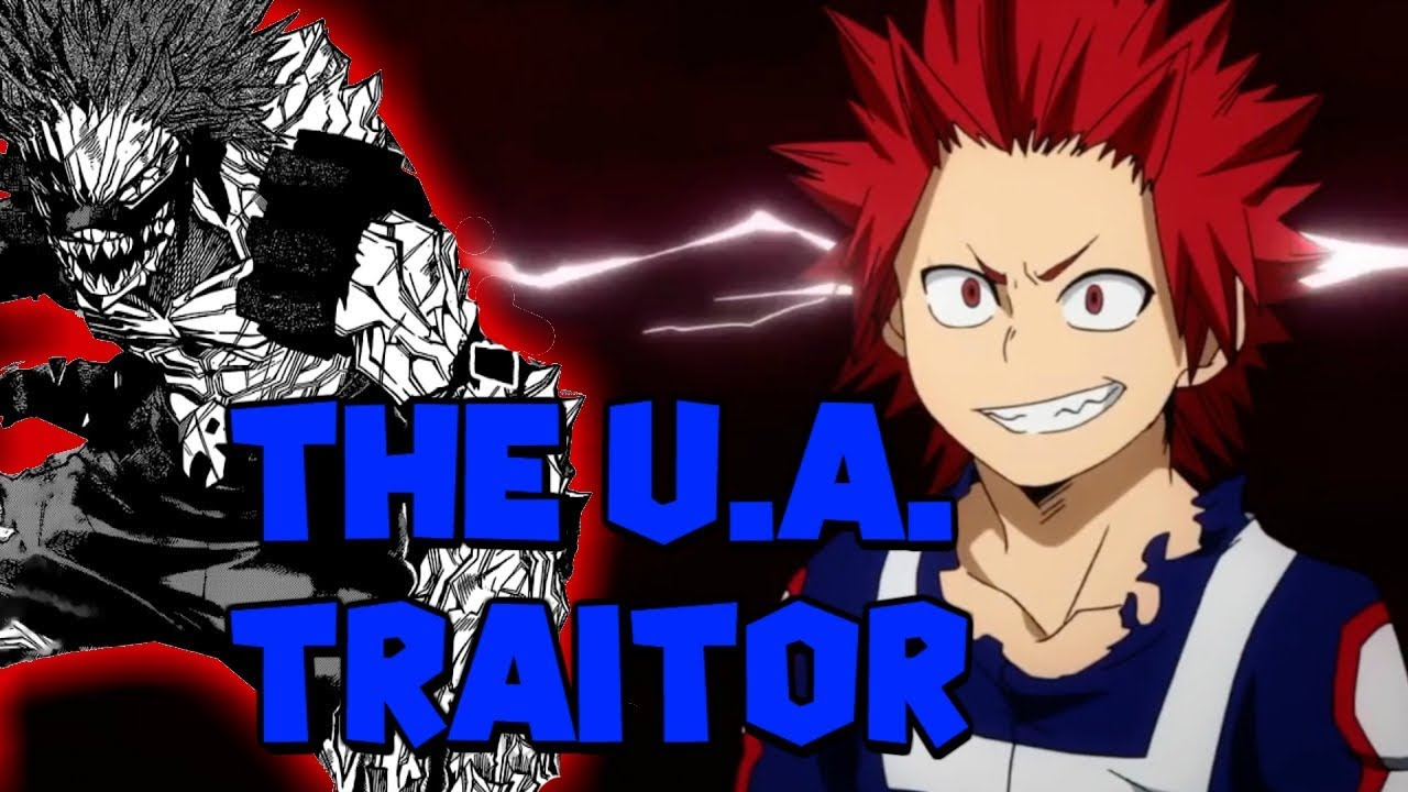 Kirishima Is The Traitor My Hero Academia Theory Youtube