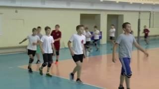 Детский волейбол. Обучение. Разминка