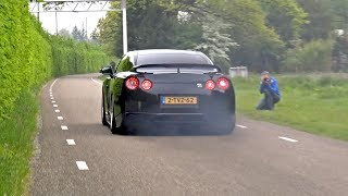 Nissan GT-R R35 with Akrapovic Exhaust !
