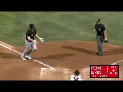 Fresno's Reed hammers 33rd homer