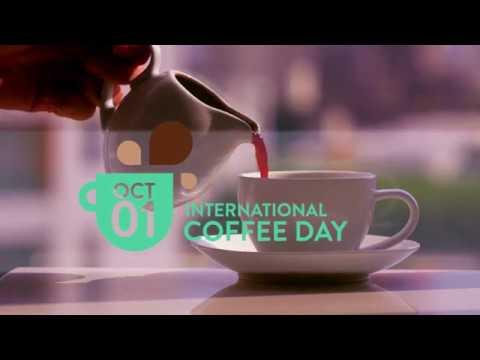 International Coffee Day 2017 short promotional video 1