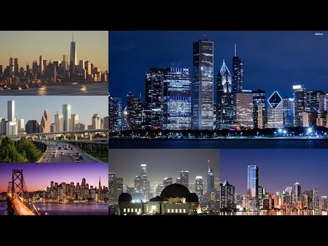 Top 10 Skylines in The US - 2018