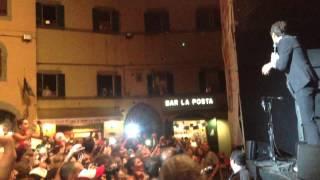 Jovanotti live @Cortona. Notte magica in piazza Signorelli