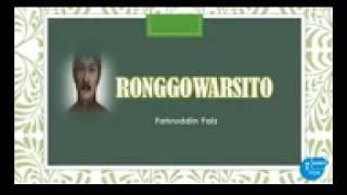 Download lagu Kisah Sufi Ronggowarsito sang Pujangga dari timur MP3