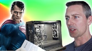 Why Superman's (Henry Cavill's) First Gaming PC is ACTUALLY a GREAT Thing (Reaction)