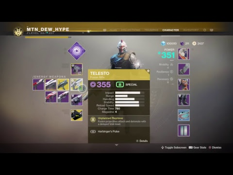 Swapping to Warlock!!! |  Destiny 2