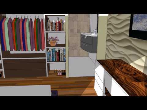 Modern House 90 m2 + Interior