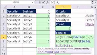 Excel Magic Trick 758: Extract Data With Two Criteria - 5 Formula Methods