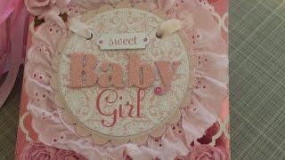 Cards & Crafts #20 - Baby Girl Mini Album