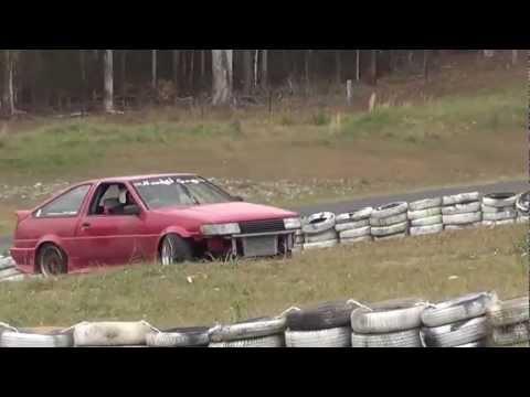Drift Fest Zero 1 - SR Powered AE86 Drifting Raleigh with Ae86 Driving Club