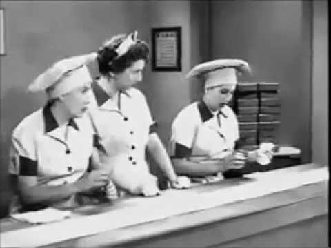 I Love Lucy Chocolate Factorywmv YouTube