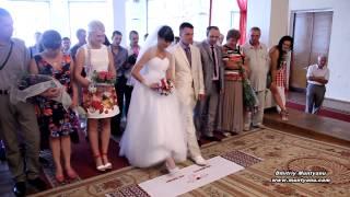 Красивая прикольная веселая свадьба свадебное видео красивое классное веселый клип