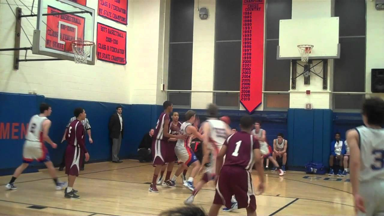 NYC Basketball: St Agnes @ Collegiate High School Jan 2012