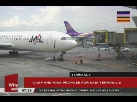 CAAP and MIAA propose for NAIA Terminal 5