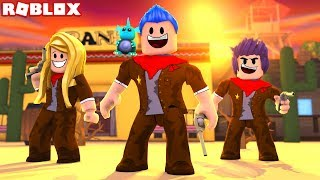 BEST NEW ROBLOX GAME EVER *I'M A COWBOY* (Roblox Wild Revolvers)