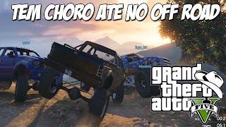 GTA 5 Online (PC) - Corrida 4 x 4 : Tem Choro até  na terra xD
