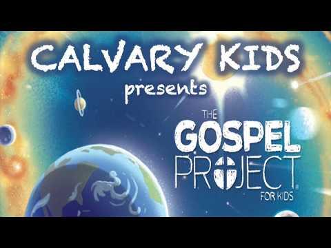CCGC Calvary Kids kicks off the Gospel Project