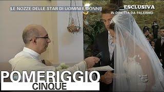 Pomeriggio 5 - Il matrimonio di Teresa e Salvatore