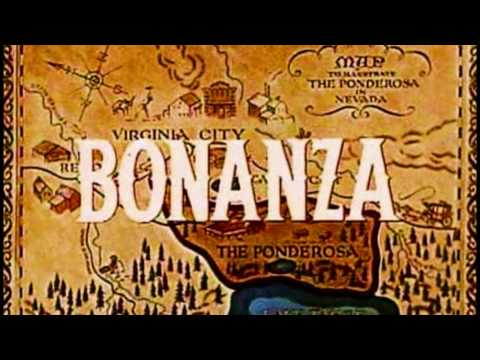 Bonanza Theme Song - Sung by Johnny Cash & Lorne Green in 720-P HD