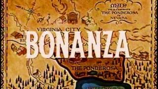 Bonanza Theme Song - Sung by Johnny Cash & Lorne Green in 720-P HD