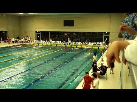 Dresdner Stollenschwimmen 2016   400m Freistil Charlotte Blanke Bahn 2