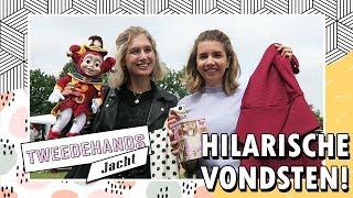 TWEEDEHANDS JACHT #7 💶 €10 Rommelmarkt Challenge met Sarah! | Boncolor
