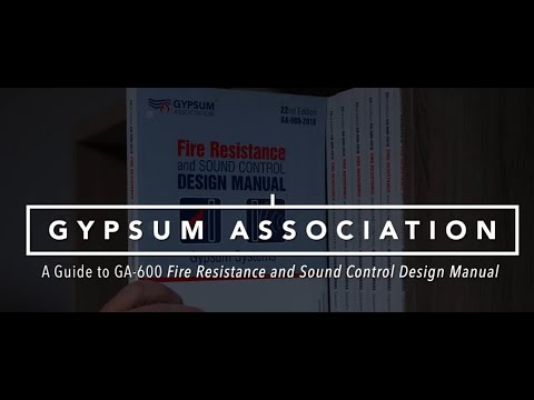 Gypsum Association – A not-for-profit trade association founded in