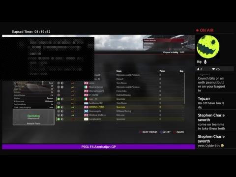PSGL | F4 | Round 7 - Azerbaijan Grand Prix