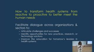 Health Systems - The Next Generation Forum 2018