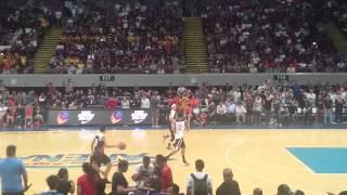 LeBron James Dunks with Chris Ellis, & Kobe Paras Highlights Nike Rise Tour Manila Philippines 2015